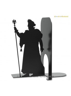 Bookend Napoleon in coronation robes depicting the french emperor. Height 19 cm