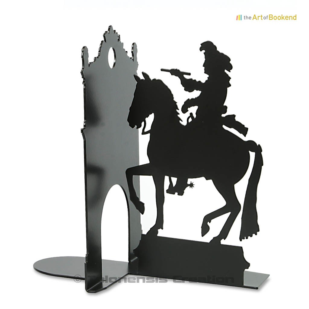 Bookend the Sun King Louis XIV. King of France. Height 19 cm